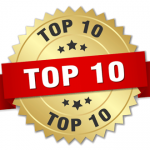 top 10 badge