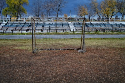 Abandoned Football Game