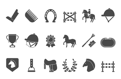 Horse Betting Icons