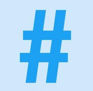 Hash Tag Icon