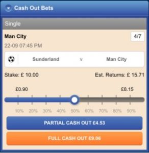 Partial Cash Out
