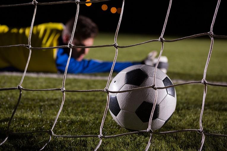 Goal Ball Past Keeper